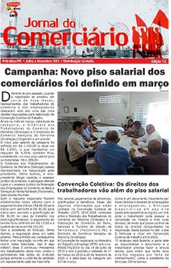 Foto do jornal Sintcope Jornal do Comerciário - Ed. 12