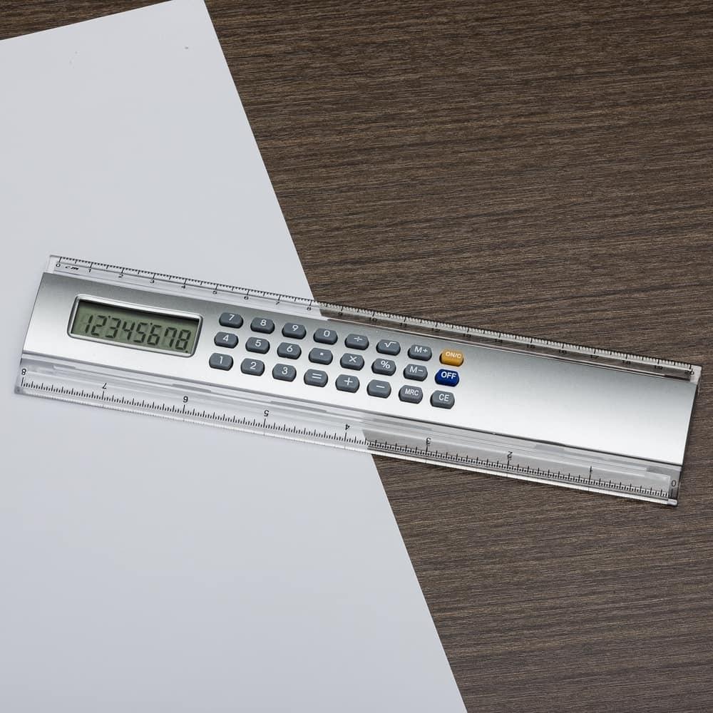 régua calculadora