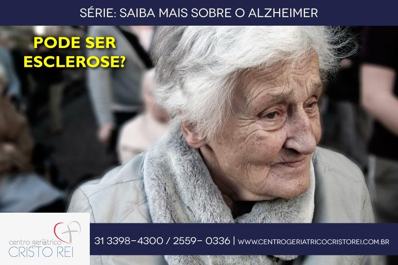 Pode ser esclerose?