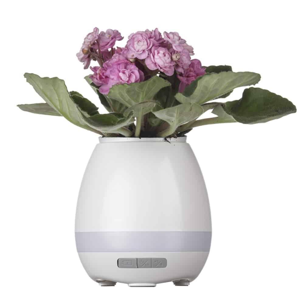 Caixa de Som Vaso com Sensor e Bluetooth - Foto 4