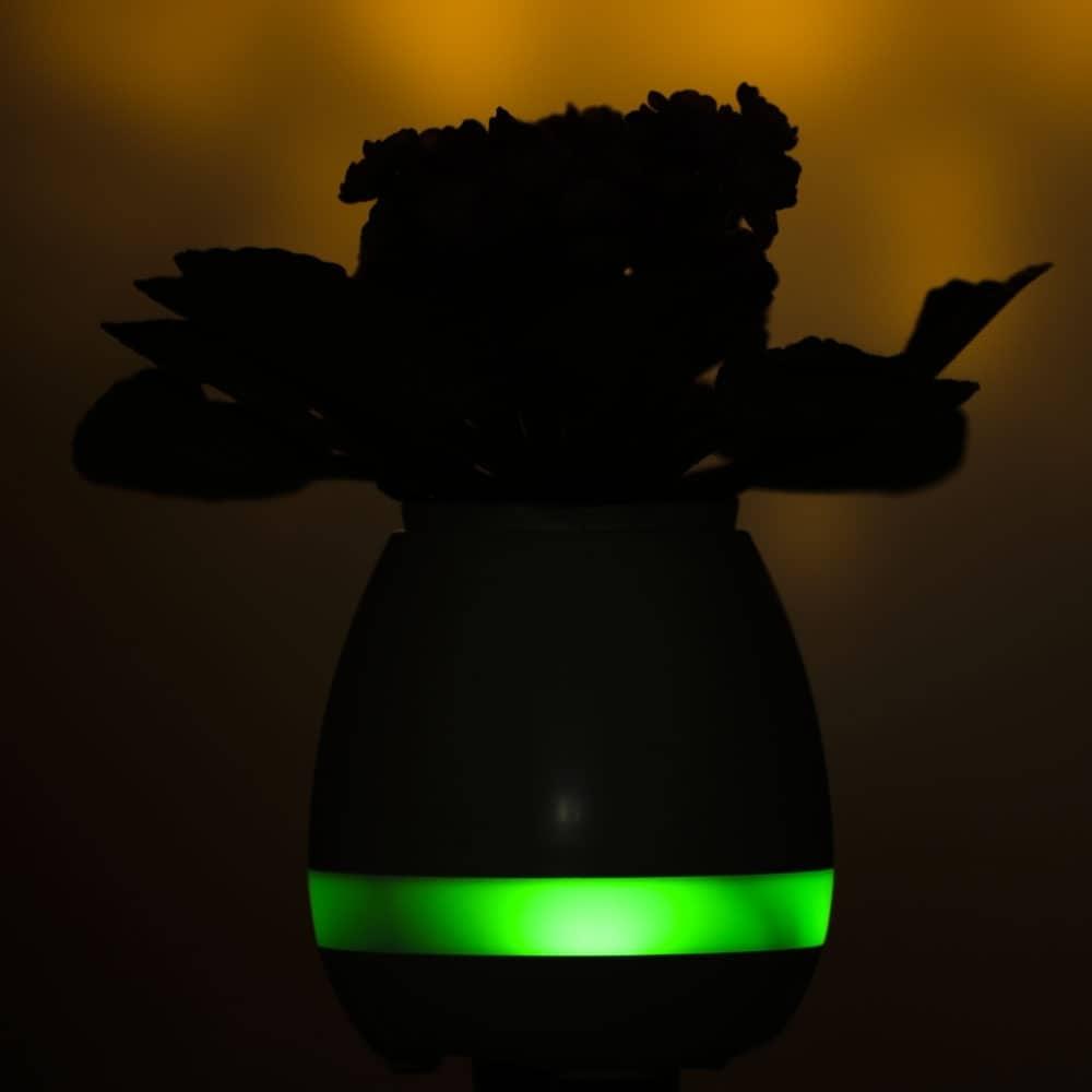 Caixa de Som Vaso com Sensor e Bluetooth - Foto 6