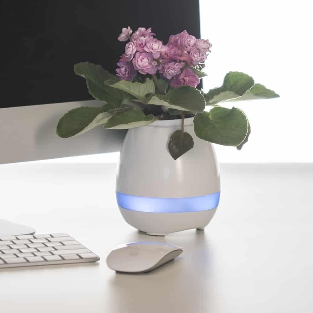 Caixa de Som Vaso com Sensor e Bluetooth - Foto 8