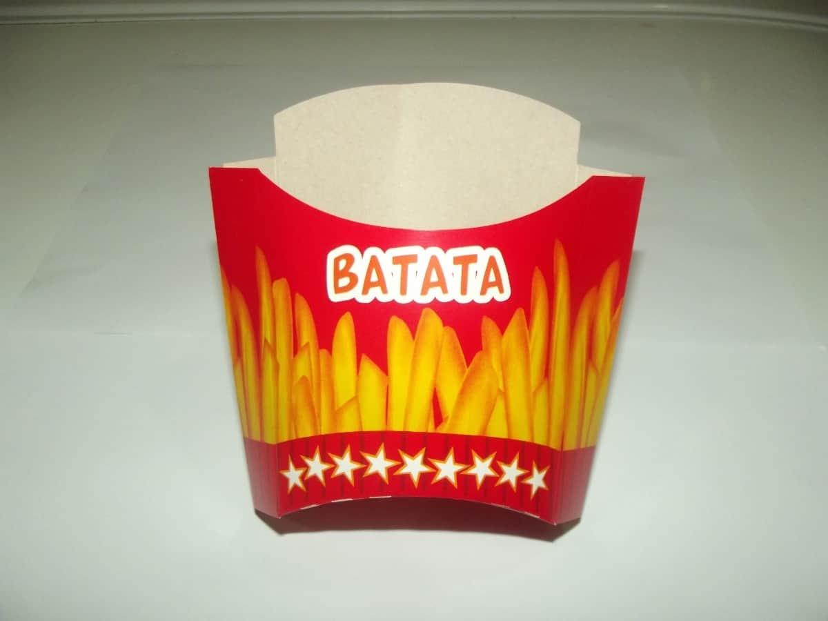 Caixa para Batata Frita - Foto 1