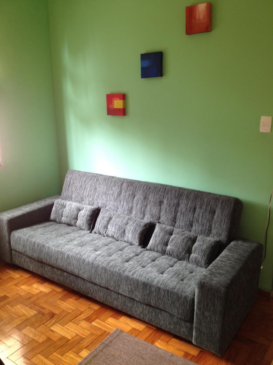 Sofá cama de 03 lugares