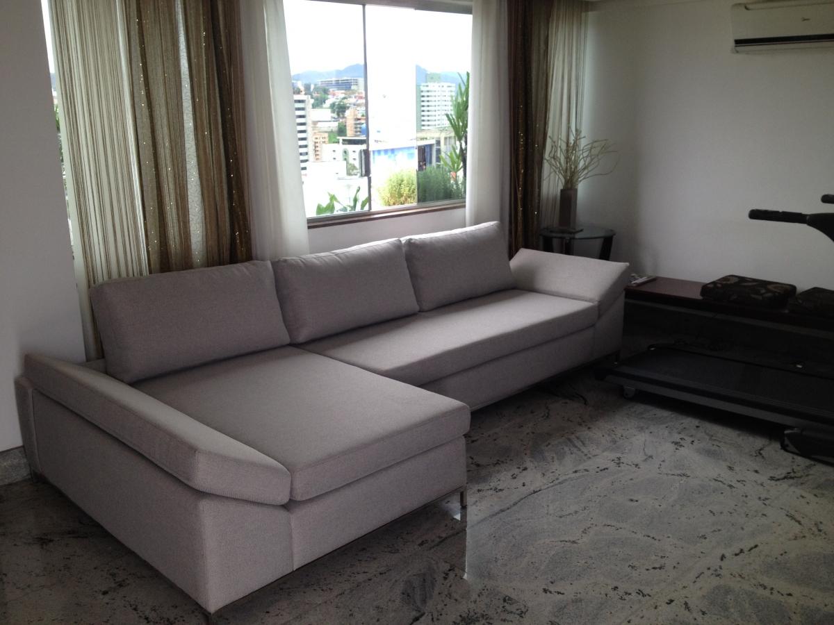 Conjunto de sofá com chaise