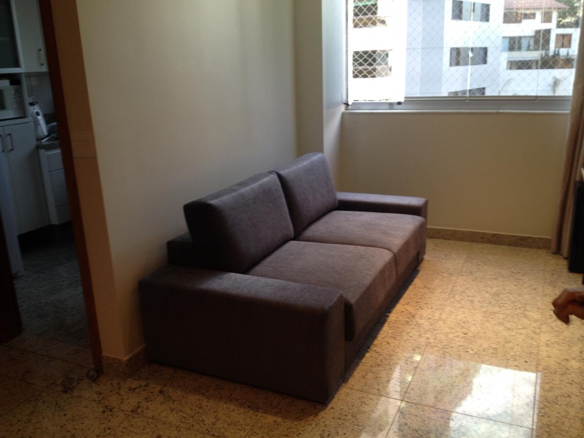 Sofá de 02 lugares retrátil
