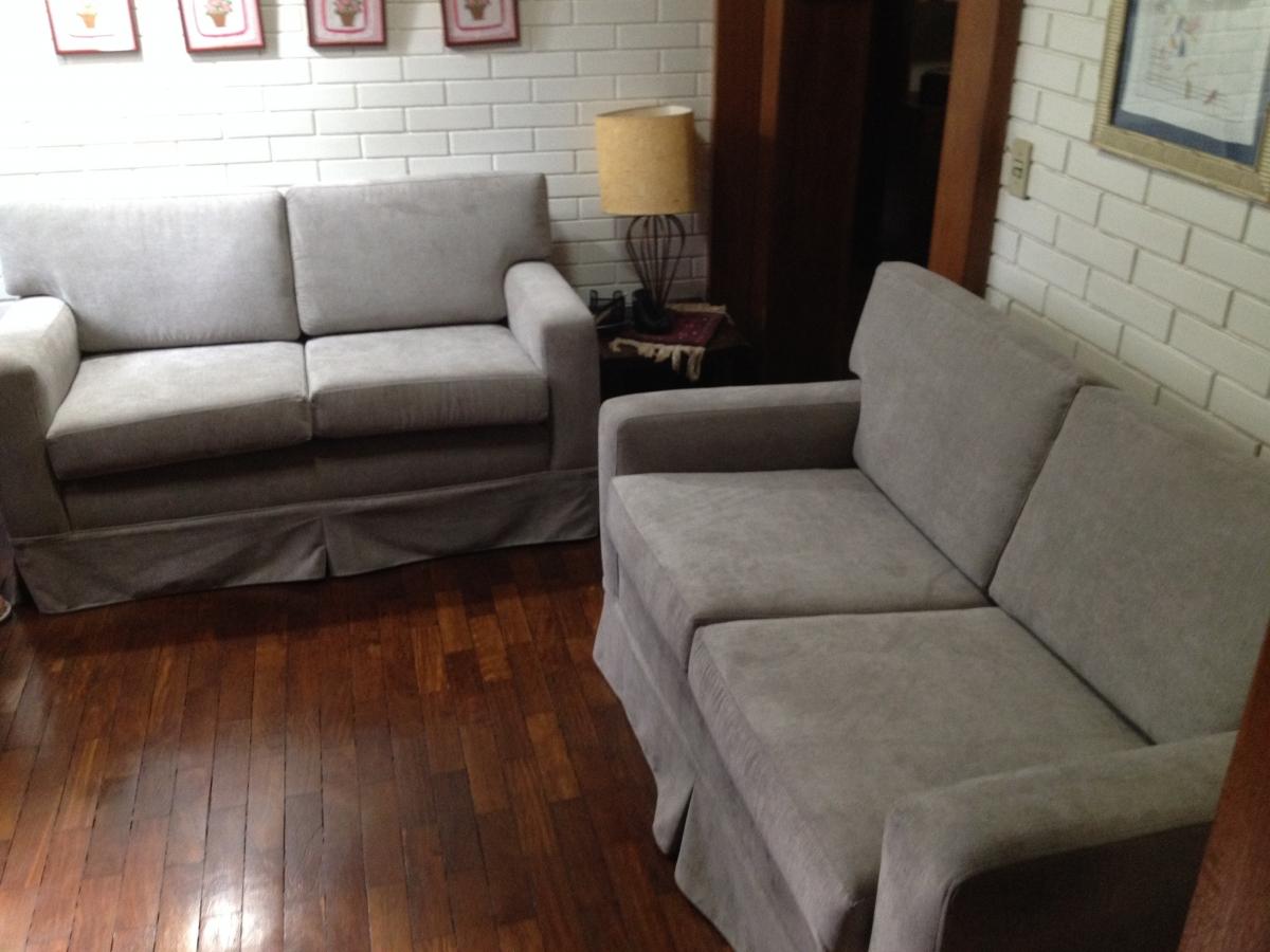 Conjuntos de sofás de 02 lugares