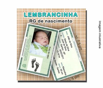 RG de nascimento - Foto 1