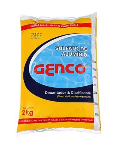 Sulfato de Aluminio Genco - Foto 1