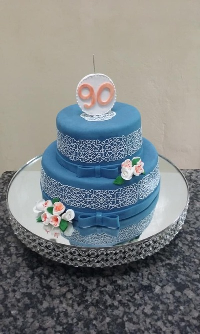 bolo de 90 anos - Foto 1