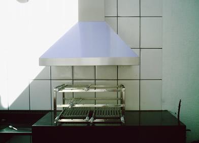 Coifa para churrasqueira com suporte inox - Foto 1