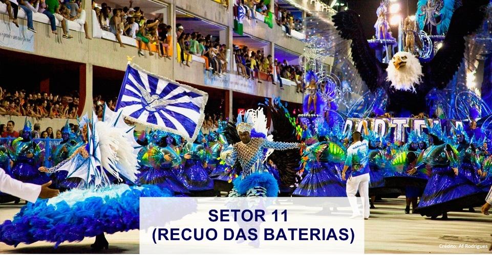 DESFILE DAS CAMPEÃS 2020 - RJ (SETOR 11)
