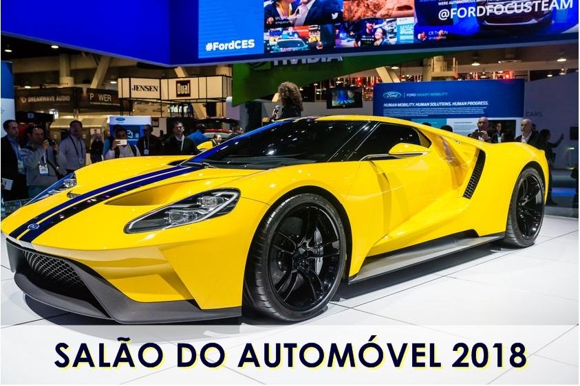 SALÃO INTERNACIONAL DO AUTOMÓVEL 2018