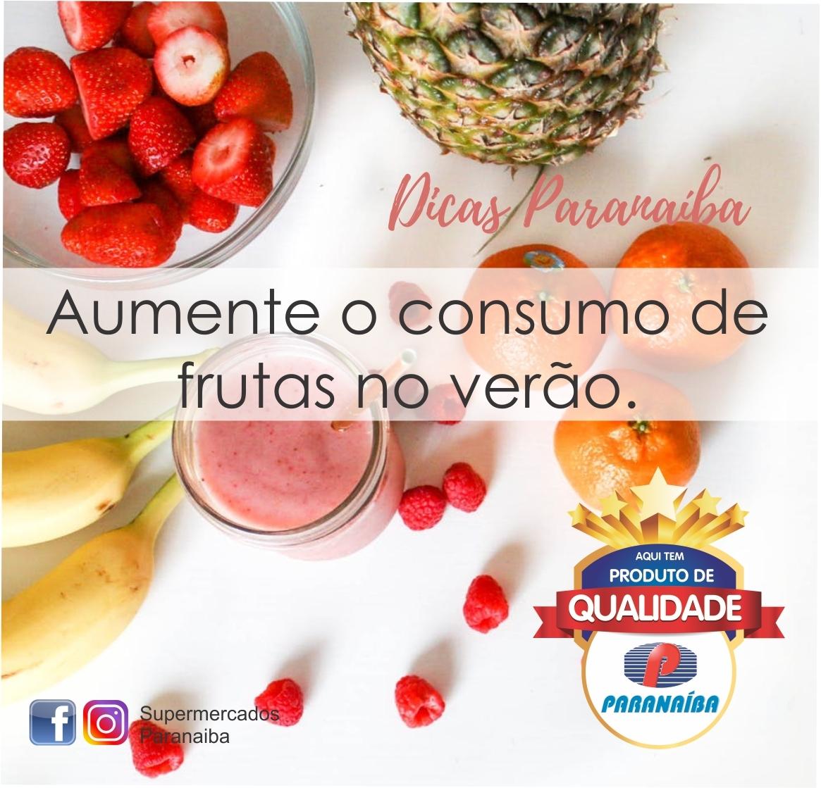 Frutas no verão