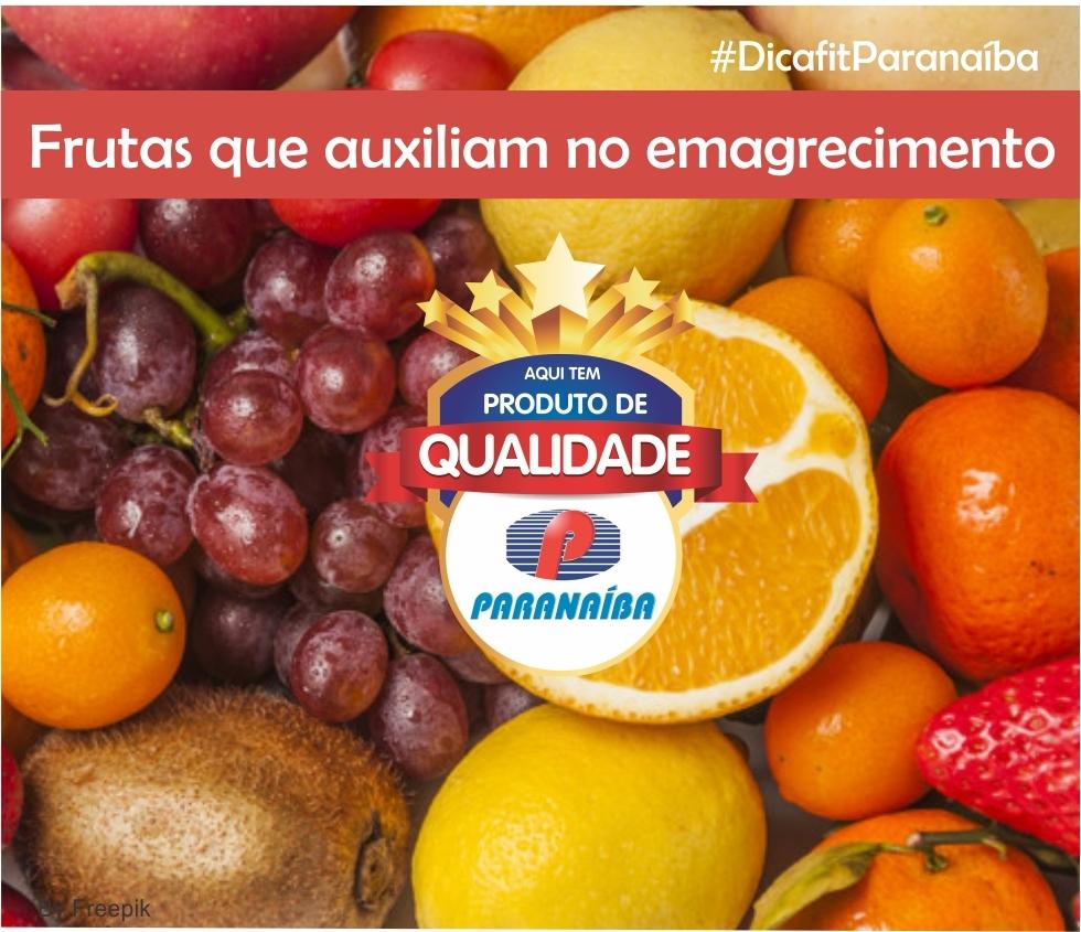 Frutas que auxiliam no emagrecimento.