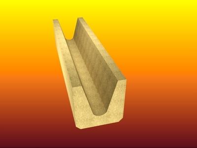 Calha para escoamento de metais - Foto 1