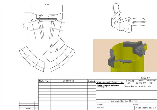 Desenhos Técnicos - Foto 3