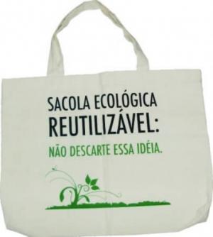 SACOLA ECOLÓGICA PET COD. 1488 - Foto 1