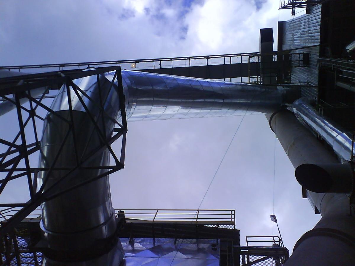 Isol. Térmico de Tubulação - Despoeiramento