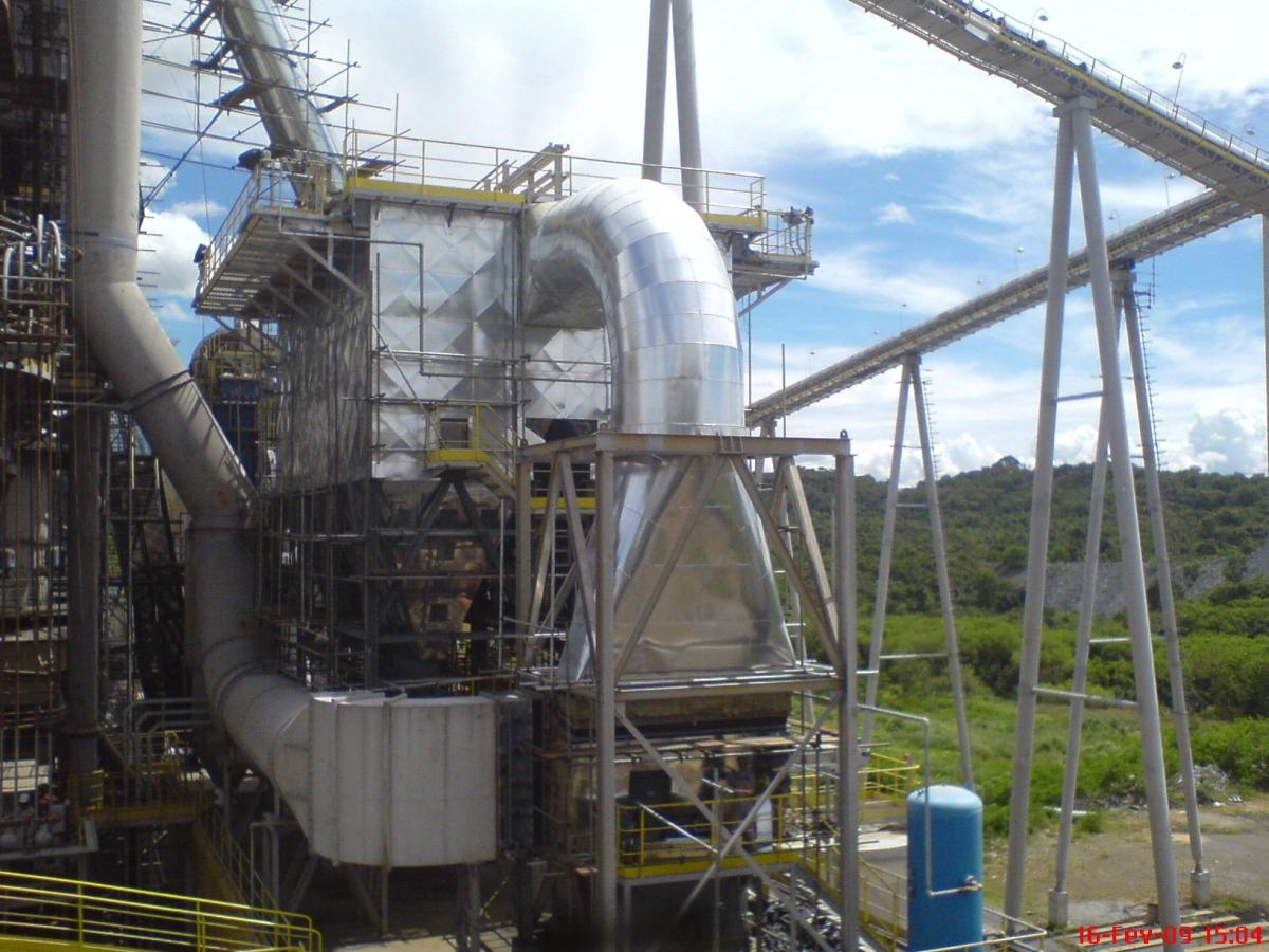 Isol. Térmico - Sistema de Despoeiramento