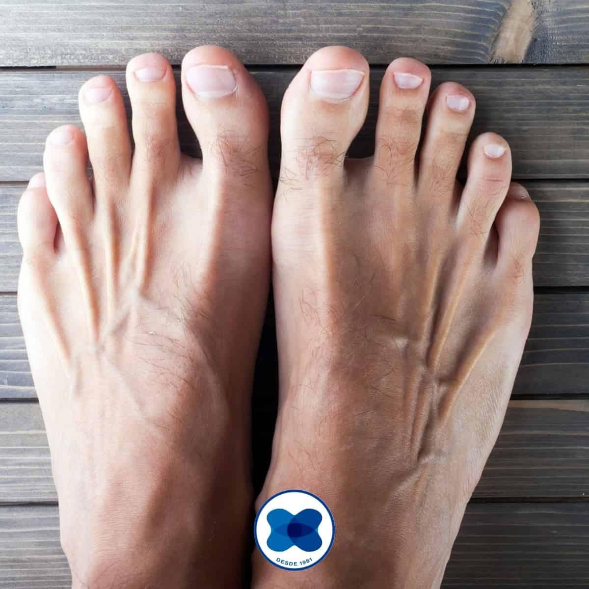 5 curiosidades dos pés