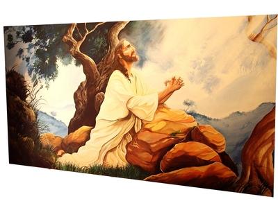 PINTURAS BÍBLICAS EM IGREJAS - Foto 1