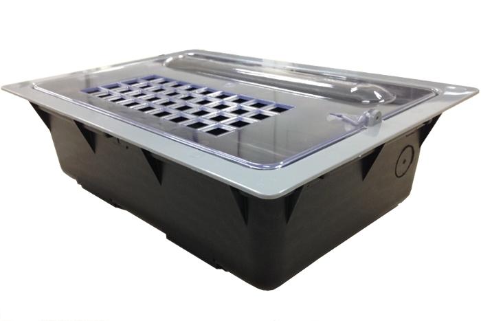 Caixa protetora com grade padrão SAAE - Foto 1