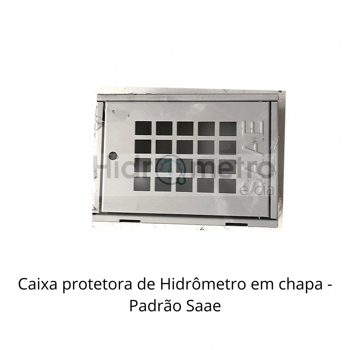 Caixa protetora com grade padrão SAAE - Foto 2