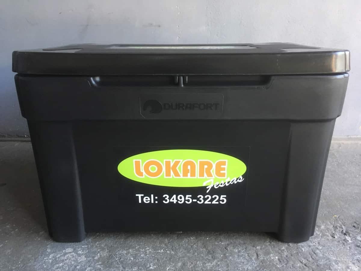 caixa térmica 190L R$45,00
