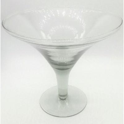 Compoteira vidro Martini - pé alto - Foto 1