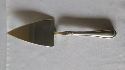 Espátula de prata p/ bolo - Foto 1