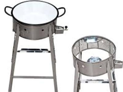 Fritadeira a gás c/ tacho - Foto 1