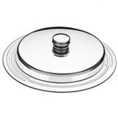 Mantegueira aço inox redonda - Foto 1