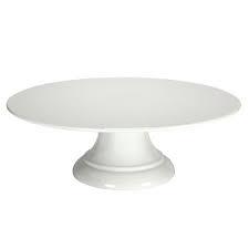Prato branco com pé s/ borda melamina - Foto 2