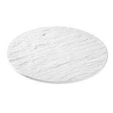 Prato branco p/ frios melamina - Foto 2