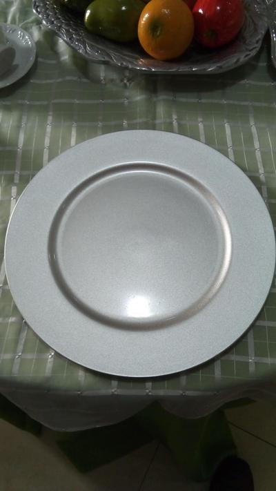 Sousplat prata - Foto 1