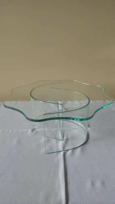 Suporte de vidro com base curva (grande) - Foto 1