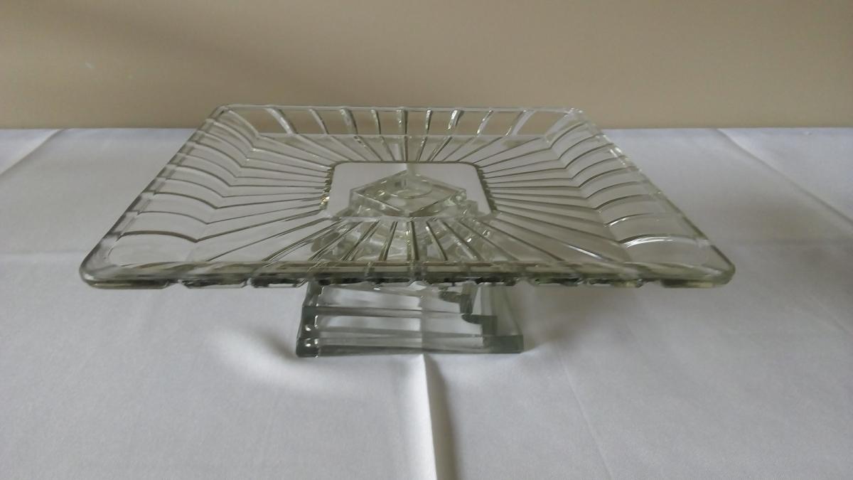 Suporte de vidro quadrado - Foto 1
