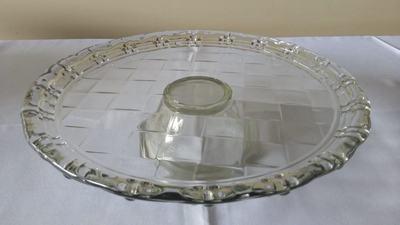 Suporte vidro redondo pé baixo - Foto 1
