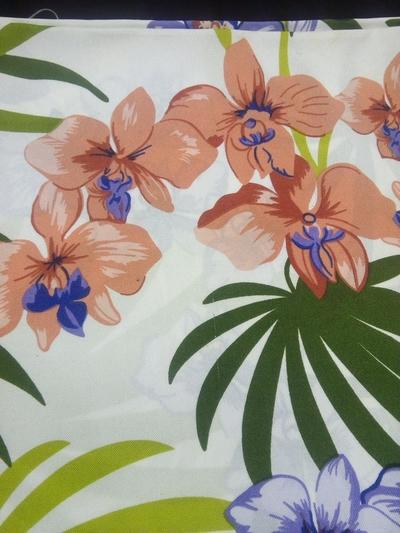 Xale floral - Foto 1