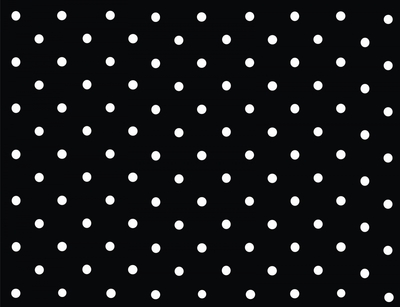 Xale preto c/ bolinha branca - Foto 1