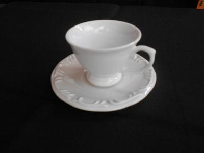 Xícara para café c/ pires Pomerode Relevo - Foto 1