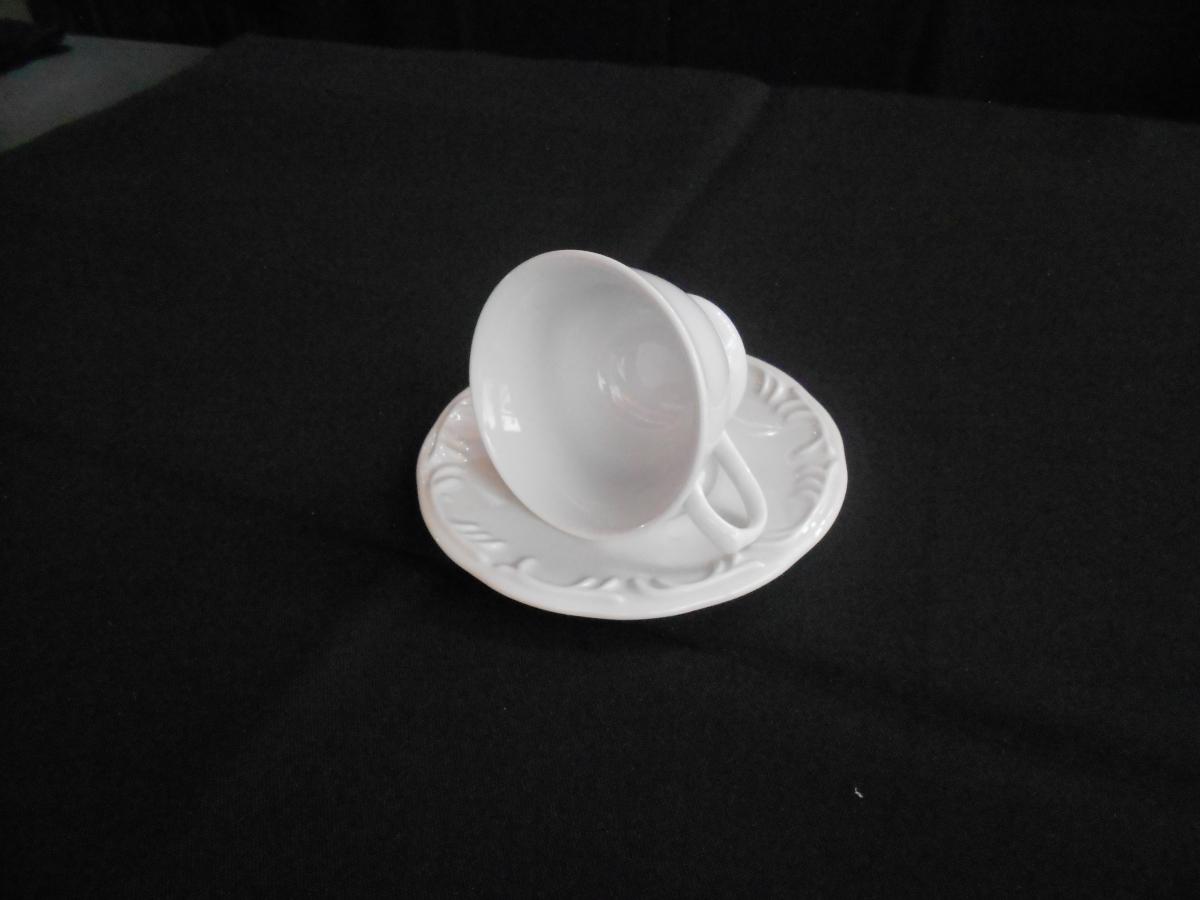 Xícara para café c/ pires Pomerode Relevo - Foto 2