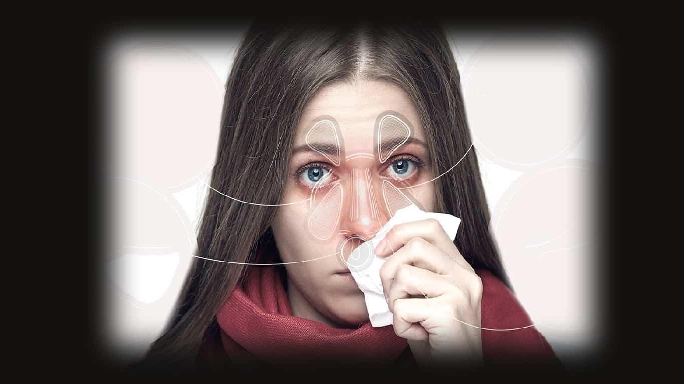 9 causas de nariz entupido e dor de cabeça