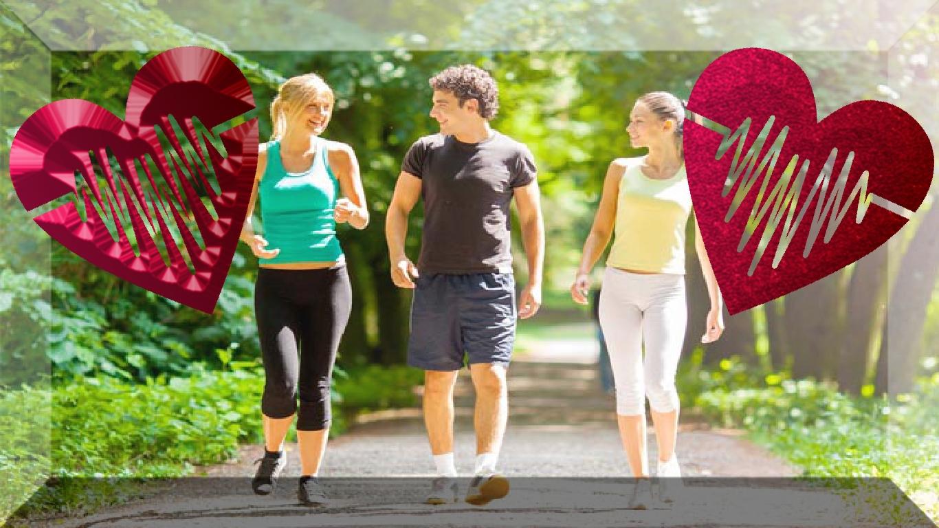 Andar mais, está ligado à pressão arterial mais baixa