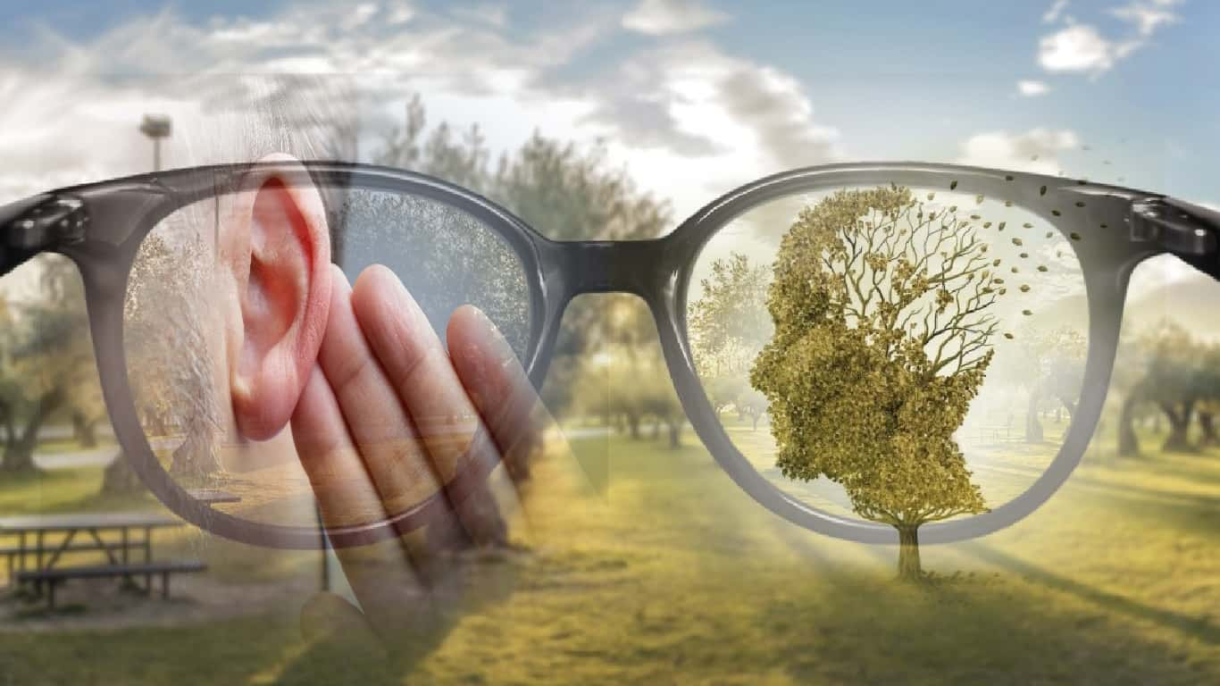Perda de audição e visão aumentam as chances de demência