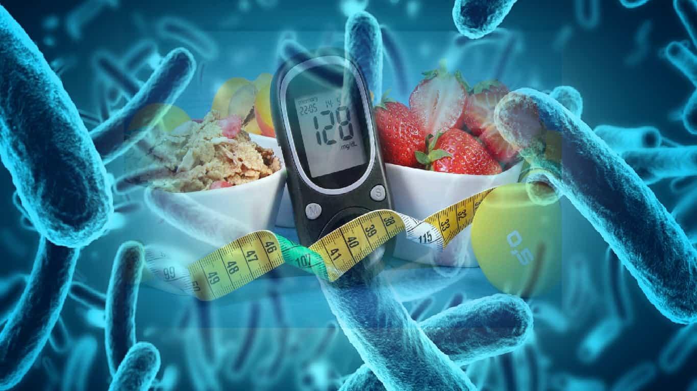 Bactérias intestinais podem ajudar a diagnosticar diabetes