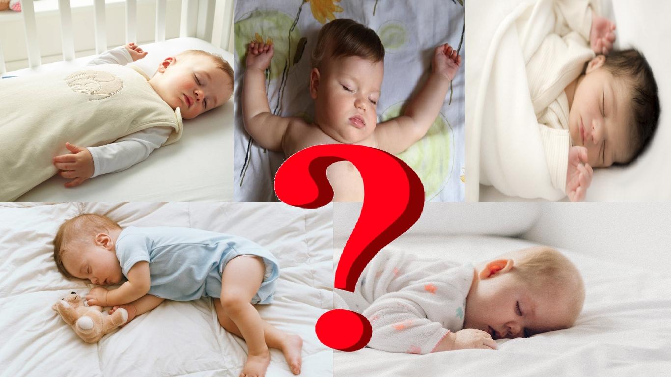 Bebê dormindo de lado: riscos e mudanças de posição