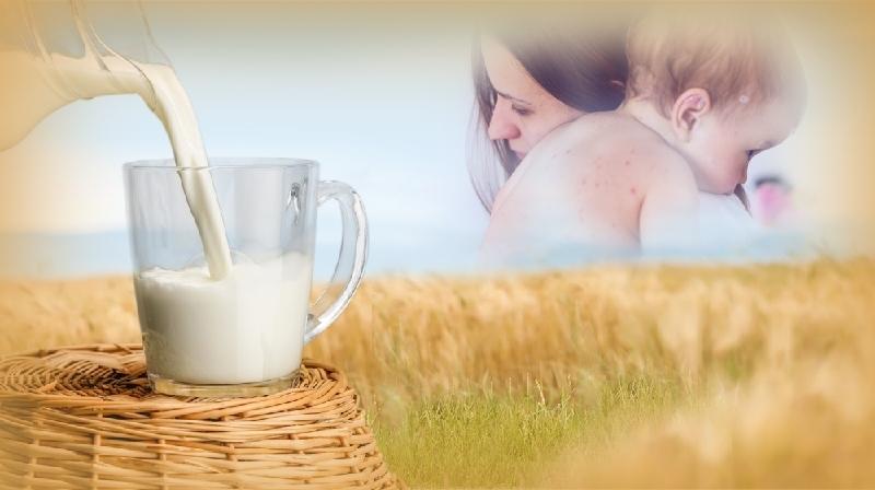 Beber leite durante a amamentação pode reduzir o risco de alergia alimentar da criança