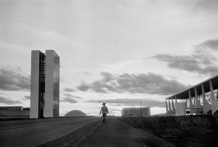 Durante construção de Brasília
